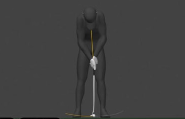 Learn 2 Putt Ball Position